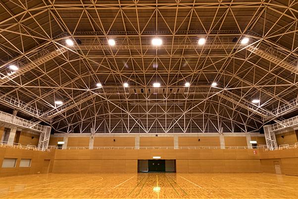 津市安濃体育館 音響設備改修